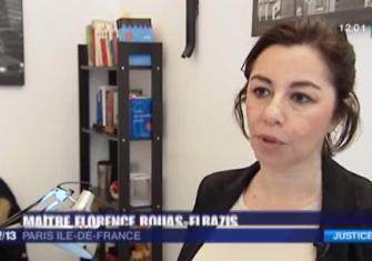 Reportage France 3 avec Interview de Maître Rouas-Elbazis